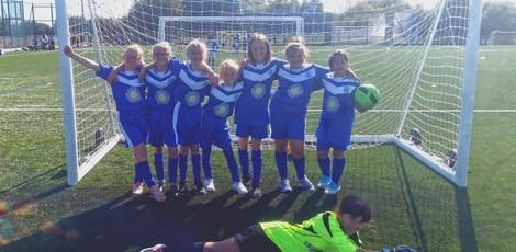 Yr 5 & 6 Girls football tournament